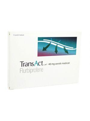 TRANSACT® LAT 40 mg. 10 Cerotti Medicati