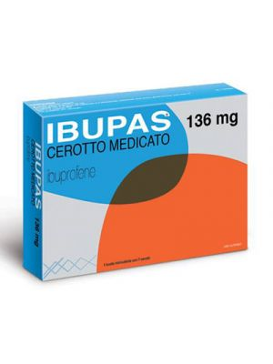 IBUPAS® 136 mg. 7 Cerotti Medicati