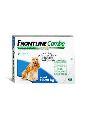 FRONTLINE Combo® Spot-On Cani M 10-20 kg. 3 Pipette Monodose