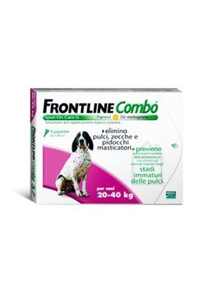 FRONTLINE Combo® Spot-On Cani G 20-40 kg. 3 Pipette Monodose