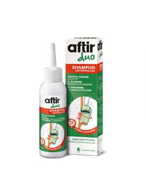 AFTIR DUO Shampoo Antipidocchi 100 ml.