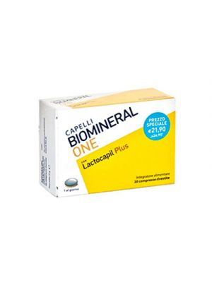 BIOMINERAL One con Lactocapil Plus 30 Compresse