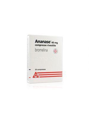 ANANASE® 40 mg. 20 Compresse