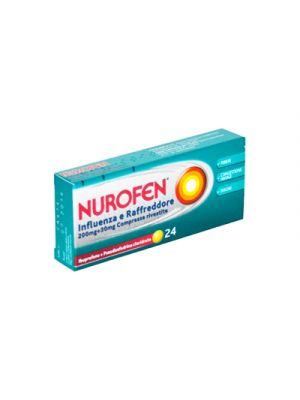 NUROFEN® Influenza e Raffreddore 200 mg.+30 mg.  24 Compresse Rivestite