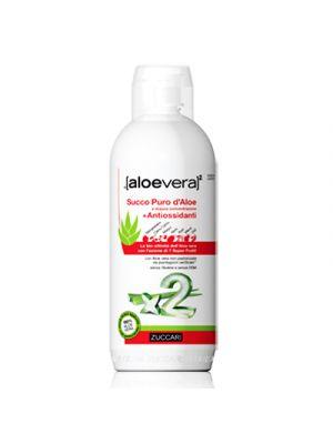 ZUCCARI AloeVera 2 Puro Succo + Antiossidanti 1000 ml.