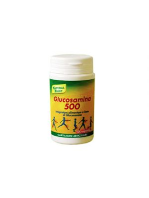 NATURAL POINT Glucosamina 500 100 Capsule