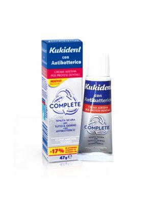 KUKIDENT® Complete con Antibatterico Crema Adesiva 47 g.