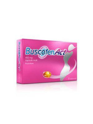 BUSCOFENACT® 400 mg. 12 Capsule Molli