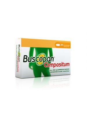 BUSCOPAN® Compositum 10mg.+500mg. 20 Compresse Rivestite