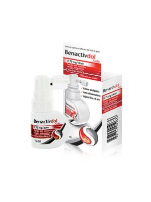 BENACTIVDOL Gola Spray Mucosa Orale 15 ml.