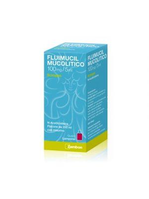FLUIMUCIL Mucolitico 100 mg./5 ml. Sciroppo Aroma Lampone 200 ml.