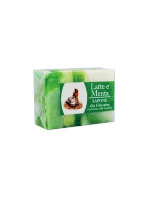 SAPONE Glicerina Latte-Menta 100 g.