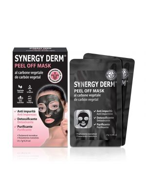 SYNERGY DERM® Peel Off Mask 4 Bustine Monodose