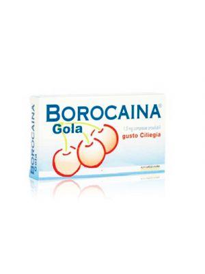 BOROCAINA® Gola Gusto Ciliegia 20 Compresse Orosolubili