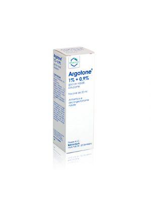 ARGOTONE® 1%+0,9% Gocce Nasali 20 ml.
