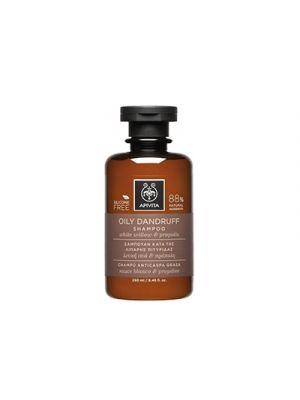 APIVITA Shampoo Forfora Grassa con Salice e Propoli 250 ml.