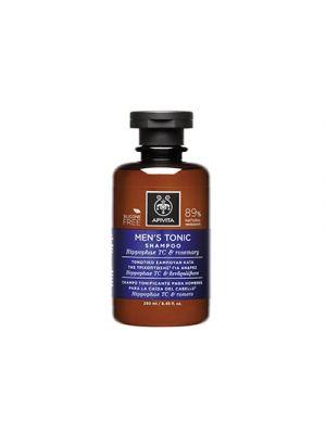 APIVITA Shampoo Tonificante Uomo Capelli Fini con Hippophae TC e Rosmarino 250 ml.