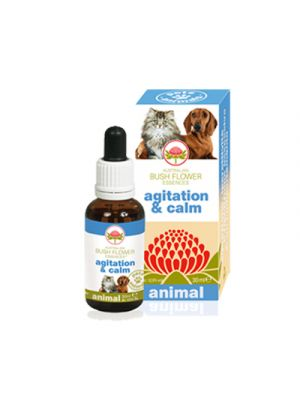 AUSTRALIAN BUSH FLOWER ANIMAL Agitation & Calm 30 ml.