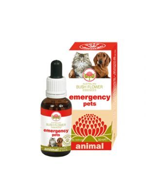 AUSTRALIAN BUSH FLOWER ANIMAL Emergency Pets 30 ml.