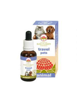 AUSTRALIAN BUSH FLOWER ANIMAL Travel Pets 30 ml.
