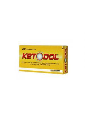 KETODOL® 20 Compresse Rilascio Modificato 25+200 mg.