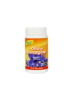 NATURAL POINT Olio di Borragine 100 Perle Gelatinose