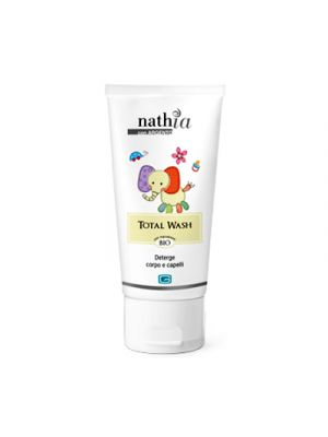 NATHIA Total Wash Detergente Corpo e Capelli 200 ml.