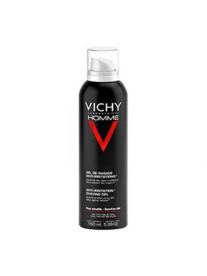 VICHY Homme Gel da Barba Anti-irritazione 150 ml.