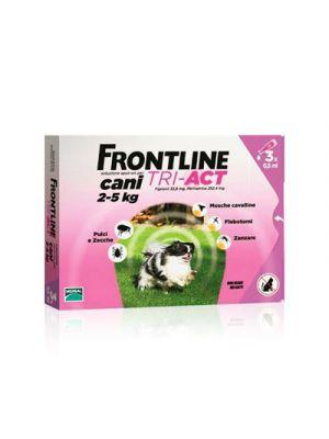 FRONTLINE Tri-Act Cani 2-5 kg. 3 Pipette Monodose