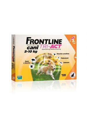 FRONTLINE Tri-Act Cani 5-10 kg. 3 Pipette Monodose