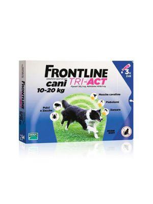 FRONTLINE Tri-Act Cani 10-20 kg. 3 Pipette Monodose