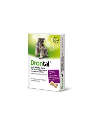 DRONTAL® Multi Aroma Carne Cani 2 Compresse