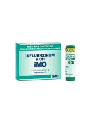 IMO Influenzinum 9CH 4 Tubi Globuli 1 g.