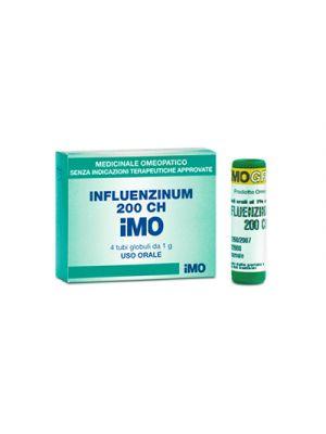 IMO Influenzinum 200CH 4 Tubi Globuli 1 g.