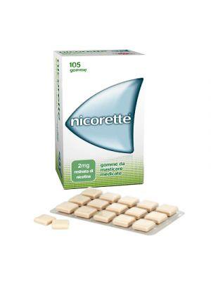 NICORETTE® 105 Gomme da Masticare Medicate da 2 mg.