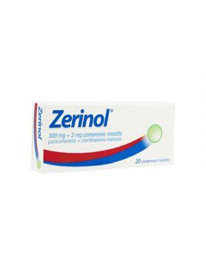 ZERINOL® 20 Compresse Rivestite 300 mg.+20 mg.
