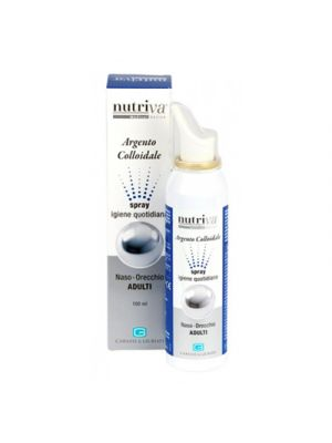 NUTRIVA® Argento Colloidale Naso-Orecchie Adulti Spray 100 ml.