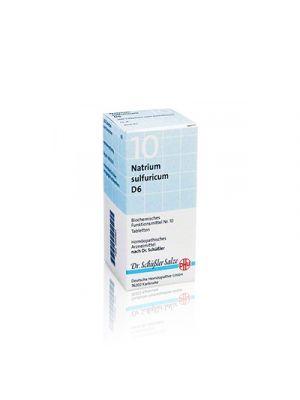 SALE SCHÜSSLER N.10 Natrium Sulfuricum D6 DHU 50 g.