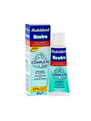 KUKIDENT® Plus Complete NEUTRO Crema Adesiva 47 g.