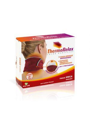 THERMORELAX Fascia Cervicale - 4 Dispositivi Autoriscaldanti
