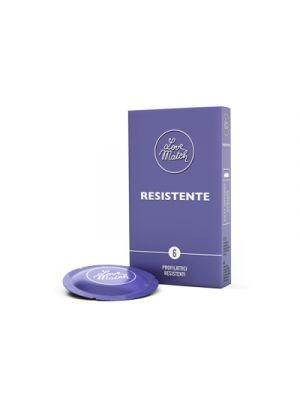 LOVEMATCH Resistente 6 Profilattici