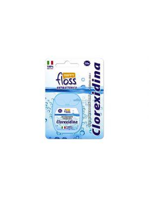 HAPPY FLOSS Filo Interdentale trattato con Clorexidina 50 m.