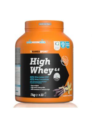 NAMED Sport High Whey 6,4 Polvere 1000 g. - Gusto Vanilla Cream