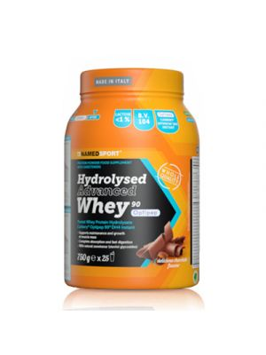 NAMED Sport Hydrolysed Advanced Whey 90 Polvere 750 g. - Gusto  Delicious Chocolate