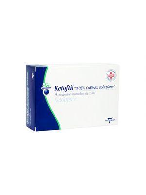 KETOFTIL 0,05% Collirio 25 Contenitori Monodose