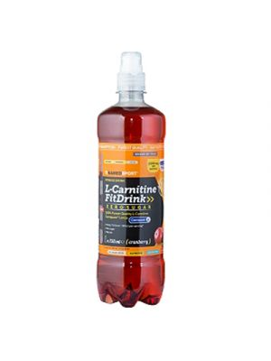NAMED Sport L-Carnitine FitDrink 500 ml. - Gusto Cranberry