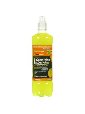 NAMED Sport L-Carnitine FitDrink 500 ml. - Gusto Pineapple