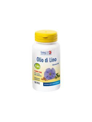LONG LIFE Olio di Lino 50 Perle Fotoprotette da 1300 mg.