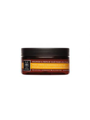 APIVITA Maschera Nutriente e Riparatrice con Oliva e Miele 200 ml.