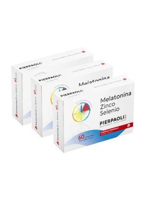 PIERPAOLI Melatonina Zinco-Selenio 180 Compresse PROMO PACK